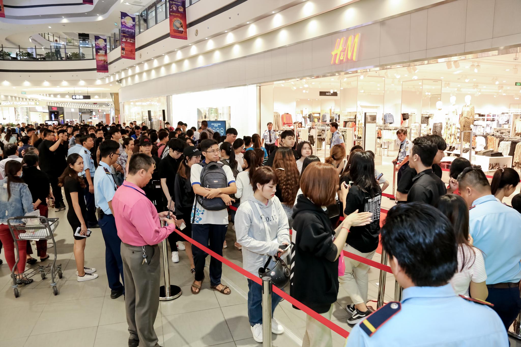 Thương hiệu H&M khai trương tại Việt Nam