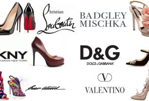 thương hiệu giày nổi tiếng